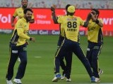 Sammy was asked 'how difficult is it for you to control Afridi on the field'. PHOTO COURTESY: PSL
