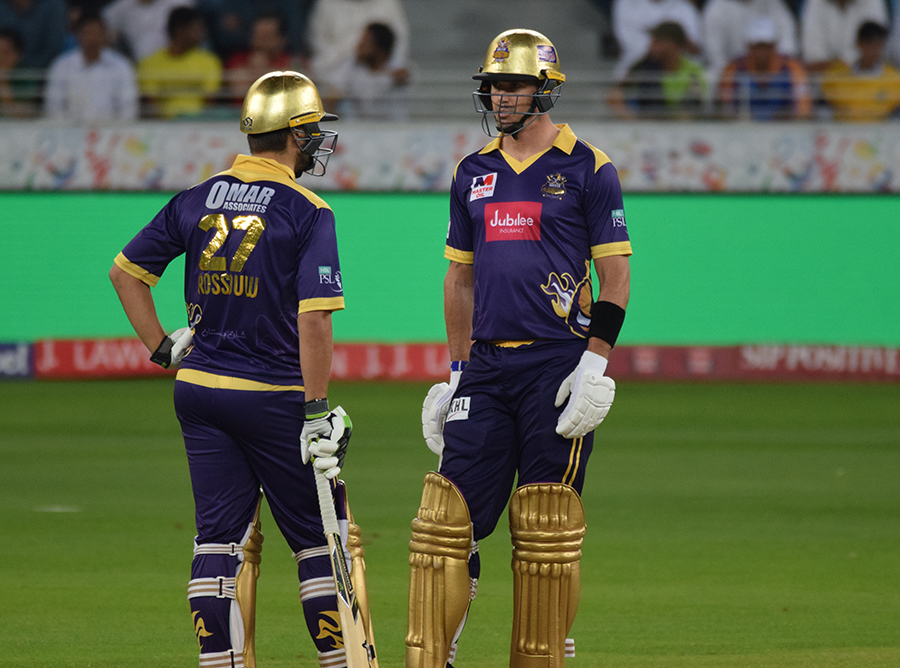 Quetta Gladiators' foreign players Kevin Pietersen, Luke Wright, and Tymal Mills have all pulled out of the Pakistan Super League's final in Lahore . PHOTO COURTESY: PCB