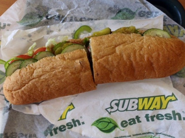 Subway chicken 'found to contain only 50% of actual chicken DNA'