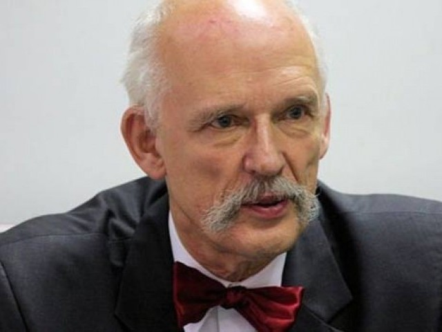 Polish member of the European Parliament, Janusz Korwin-Mikke, is known for his sexist views. PHOTO: REUTERS