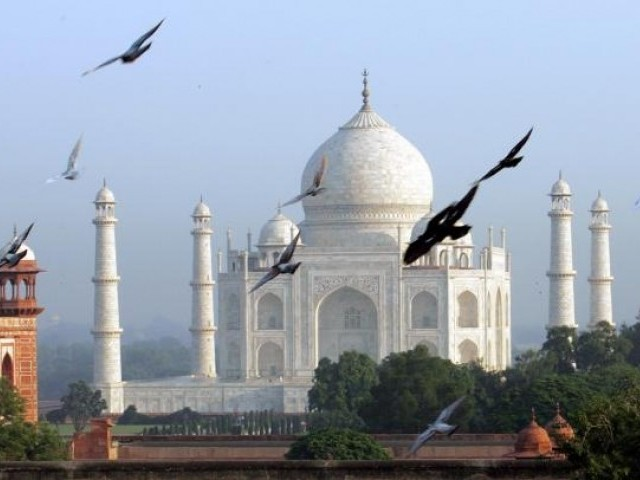Taj Mahal. PHOTO: REUTERS