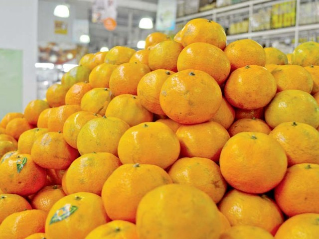 The All Pakistan Fruit and Vegetable Exporters, Importers and Merchants Association (PFVA) has fixed the export target at 350,000 tons for the 2016-17 season. PHOTO: FILE
