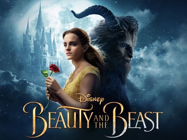 Poster of the film, Beauty and the Beast. PHOTO: PUBLICITY
