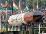 A file photo of an Indian nuclear warhead. PHOTO: AFP