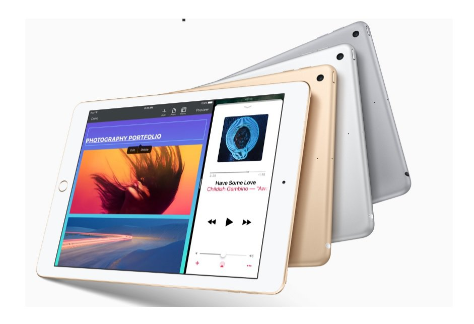 The new iPad model will have a starting price of $329. PHOTO: APPLE