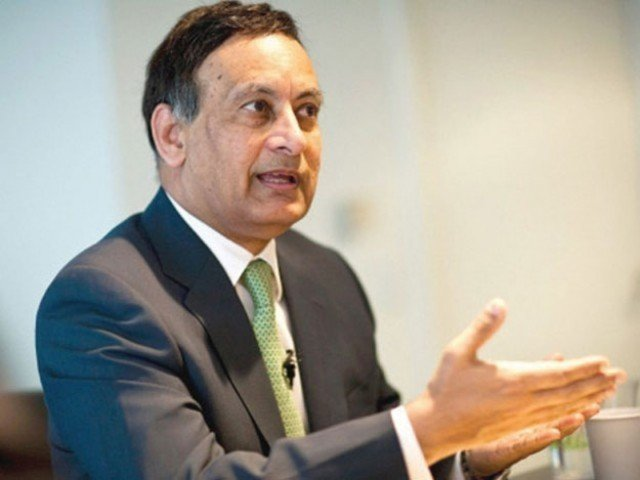 A file photo of former Pakistan ambassador to the US, Husain Haqqani. PHOTO: EXPRESS