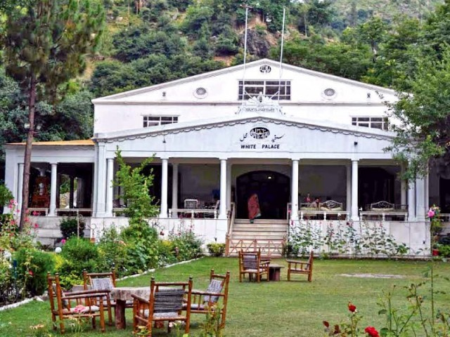 A view of the White Palace in Swat. PHOTO: EXPRESS