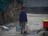 44 per cent of the population is without access to clean drinking water. PHOTO: EXPRESS/FILE