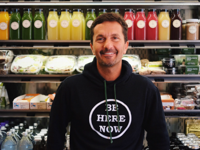 Khalil Rafati is the millionare founder and owner of the Californian health food business Sunlife Organics. PHOTO: SUNLIFE ORGANICS