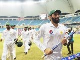 Pakistan are now fifth in the ICC Test rankings. PHOTO: AFP