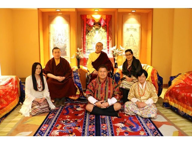 (Left to right): Rinchen Yangzo, Thaye Dorje. PHOTO: KARMAPA.ORG