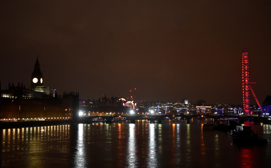 A general view of The Houses of Parliament and Westminster Bridge after an attack on Westminster Bridge in London. PHOTO: REUTERS