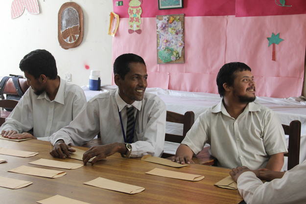 Many of the students at the vocational training centre are between the ages of 15 and 30. PHOTO: AYESHA MIR/EXPRESS