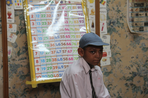 The complex caters to students with the four disabilities recognised in Pakistan - hearing, speech, visual and physical impairments. PHOTO: AYESHA MIR/EXPRESS