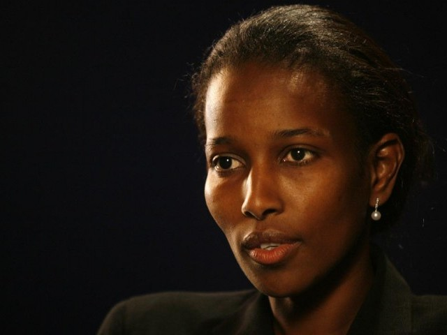 Ayaan Hirsi Ali. PHOTO: AFP