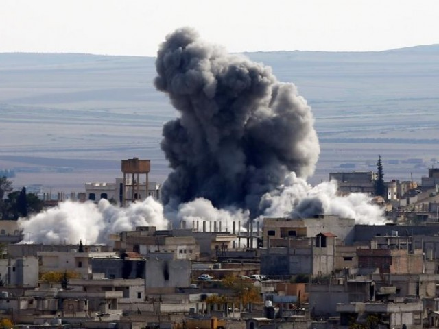 Jets launch raids from Syria base hit by USA, says monitor