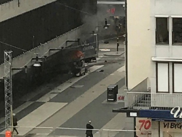 Swedish police say man arrested in connection with truck attack identified
