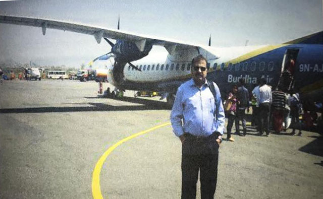 Lt Col (retd) Muhammad Habib Zahir went missing from Nepal on April 6. Photo: FILE