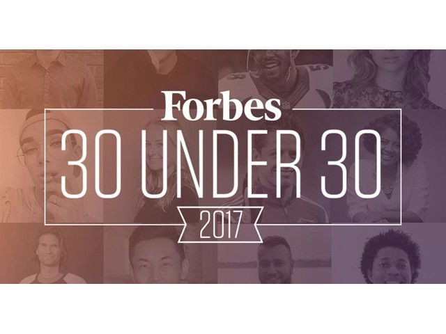 Forbes 30 Under 30, which is a set of lists issued annually by Forbes magazine, recognises the brightest young minds