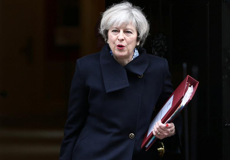 file-photo-britains-prime-minister-theresa-may-leaves-downing-street-in-london
