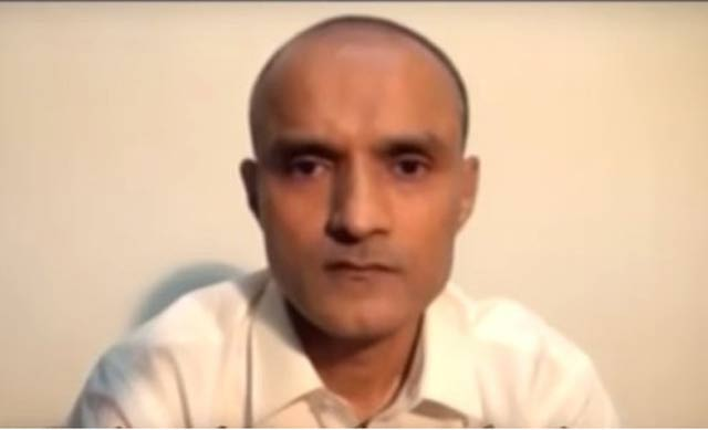 Kulbushan Yadav. VIDEO SCREENGRAB