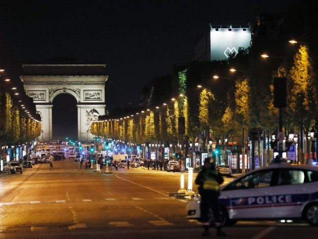 French police say Champs-Elysees shooting suspect was known terror suspect