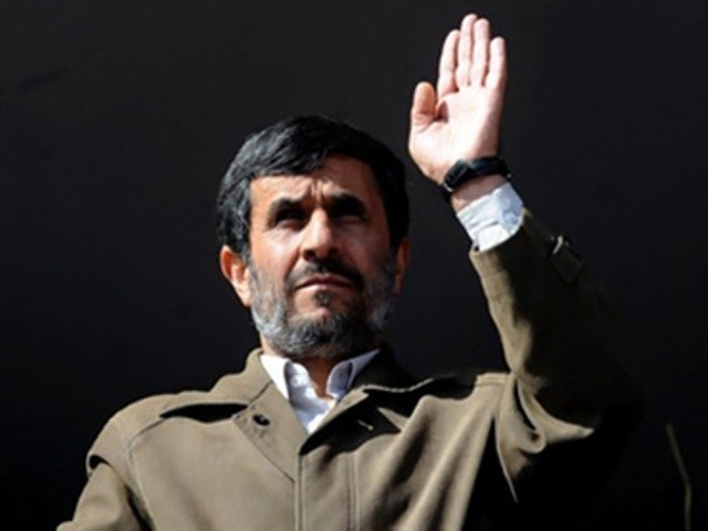 Ahmadinejad shocked everyone by registering as a candidate last week against the advice of supreme leader Ayatollah Ali Khamenei -- a move which many described as political suicide. PHOTO: AFP