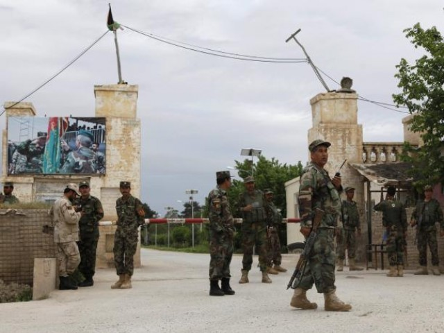 Dozens of casualties in attack on Afghan army base