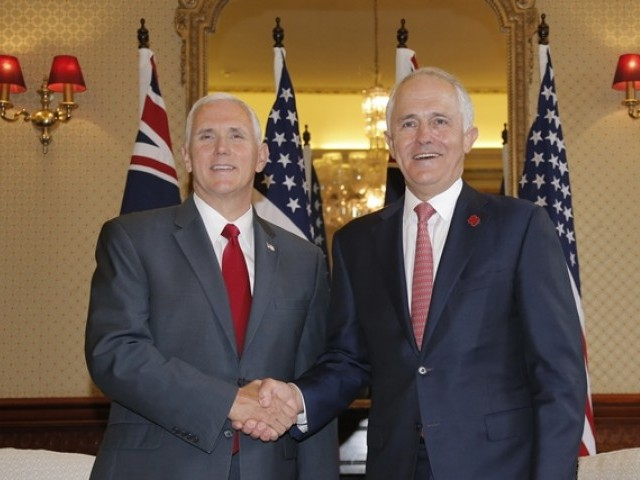 USA will honour refugee deal Trump dubbed 'dumb', Pence tells Australia
