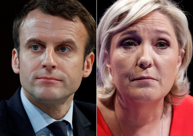 World financial markets higher after French centrist Macron comes out on top