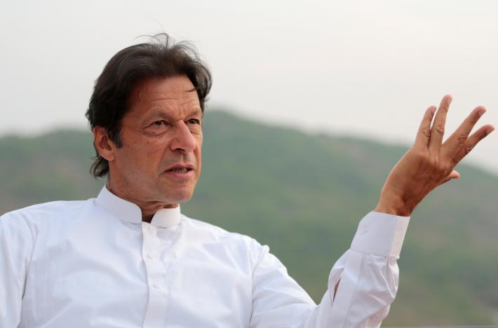 Khan said Nawaz Sharif has no further evidence to prove he's clean of corruption. PHOTO: REUTERS