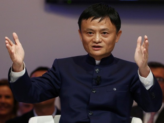 Chairman of China's biggest e-commerce portal expressed his desire to visit Pakistan in a meeting with Anusha Rahman. PHOTO: REUTERS