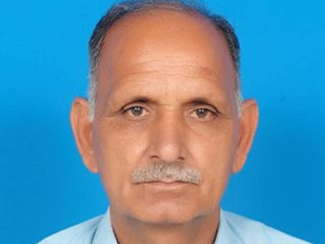 Basharat Ahmad is the fourth Ahmadi to have been killed in the province in the past five weeks. PHOTO: EXPRESS