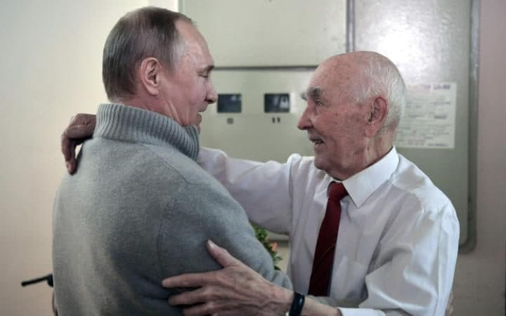 putin wishes his former kgb boss happy birthday