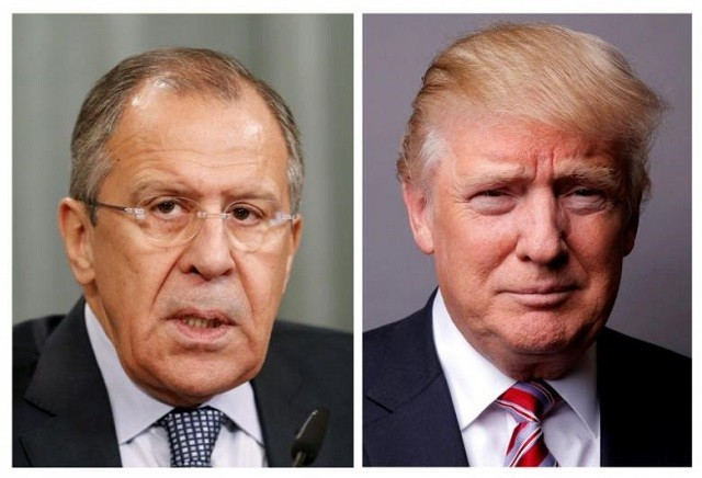 Sergei Lavrov, Russian foreign minister, jokes about Comey firing