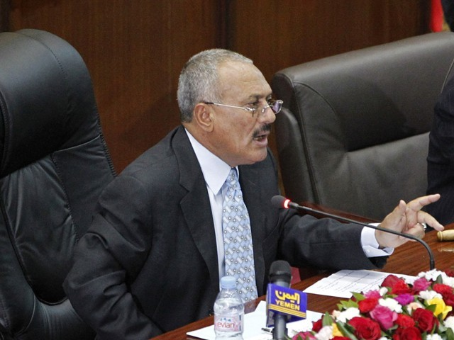 Ali Abdullah Saleh wants negotiations with Saudi Arabia