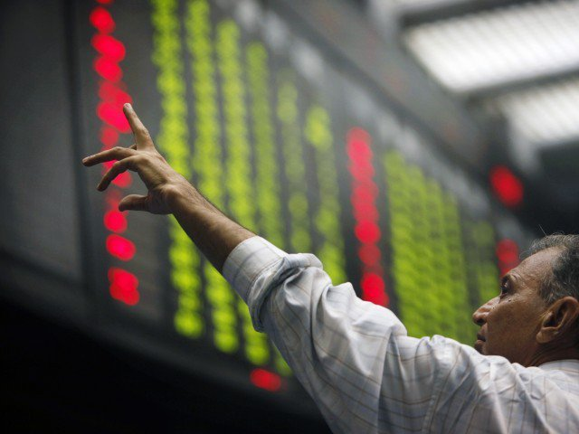 PSX's benchmark index records an increase of 30.39 points. PHOTO: FILE
