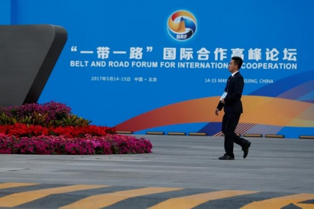 China pledges $124 billion for new Silk Road, says open to everyone
