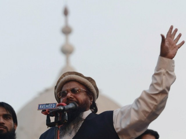 FRB demands reply over Hafiz Saeed's house arrest