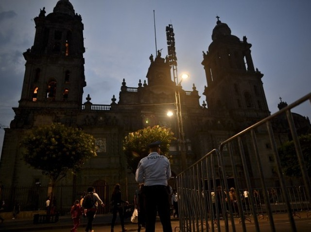 Priest stabbed in front of cathedral congregation in Mexico