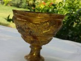 A gold goblet dating back to 1800 BC will be displayed at the National Museum of Pakistan on the occasion of World Museum Day at May 18. PHOTO: COURTESY NATIONAL MUSEUM OF PAKISTAN
