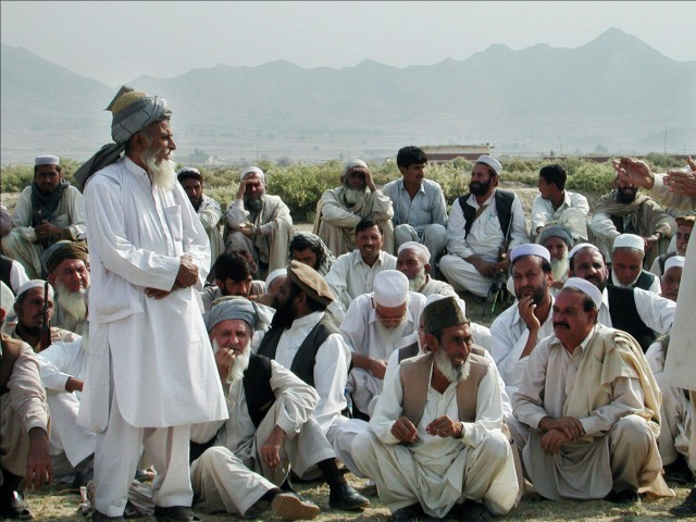 Bajaur's elders say political leaders are trying to malign the jirga system for political motives. PHOTO: AFP/File