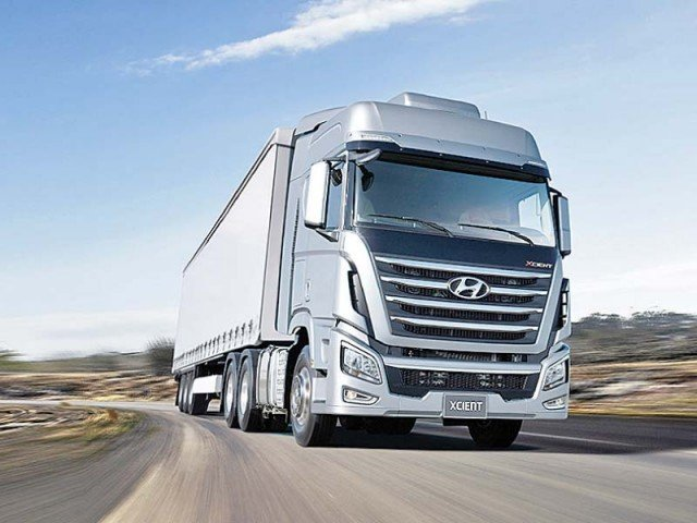 Truck assemblers in Pakistan say that CPEC is expected to generate huge demand for trucks and buses in the country. PHOTO: HYUNDAI