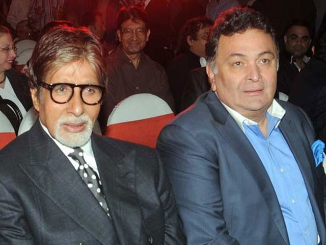 Shooting for Big B, Rishi Kapoor's film '102 Not Out' begins