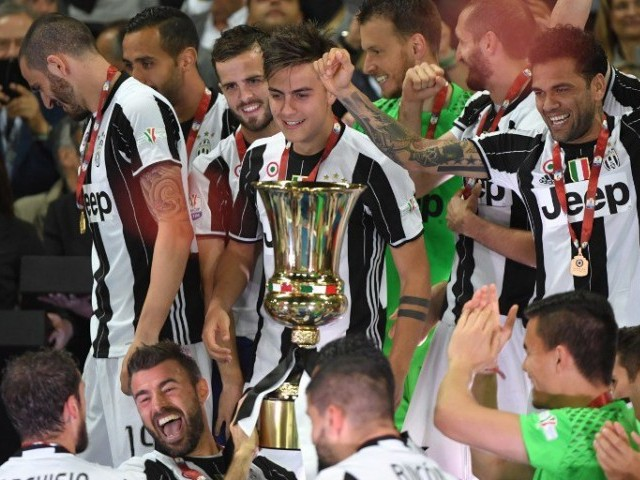 Juventus crowned Serie A champions for sixth consecutive time