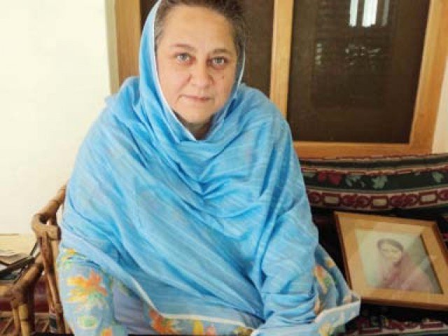 Musarrat Ahmad Zeb claims her inner conscience has compelled her to spill the beans. PHOTO: Express