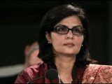 Dr Sania Nishtar was one of only two women in the running. PHOTO: TWITTER