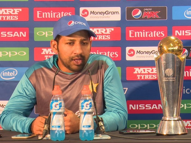 Sarfraz Ahmed confident of Pakistans Champions Trophy chances