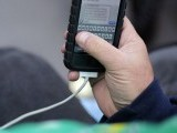 Charging cords can also be used to access data on you smartphone. PHOTO: REUTERS