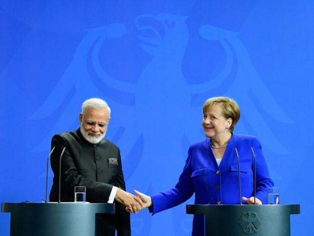 Angela Merkel hosts Indian leader as Germany looks to broaden global ties